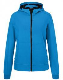 Ladies` Hooded Softshell Jacket
